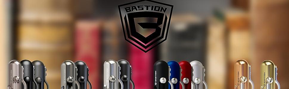 bastion bolt action pens stainless steel carbon fiber titanium brass copper aluminum collection