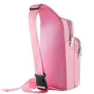 Pink bag back