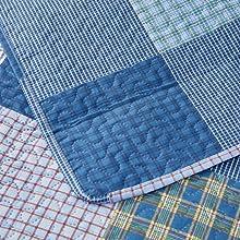 plaid checked pattern design