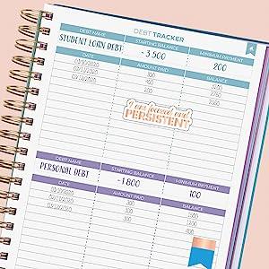 Debt Tracker page