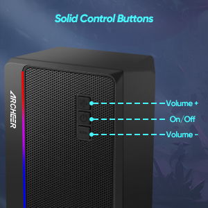 The Solid Control Buttons Can Make Every Adjustment Accuratly