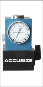 Accusize Z Axis Zero Setter 2 inch Height, with Magnetic Base, 2124-2002