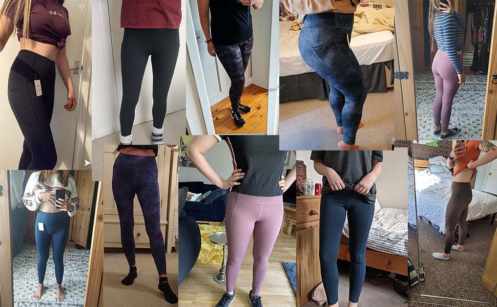 Nauwsluitende yoga-leggings voor dames