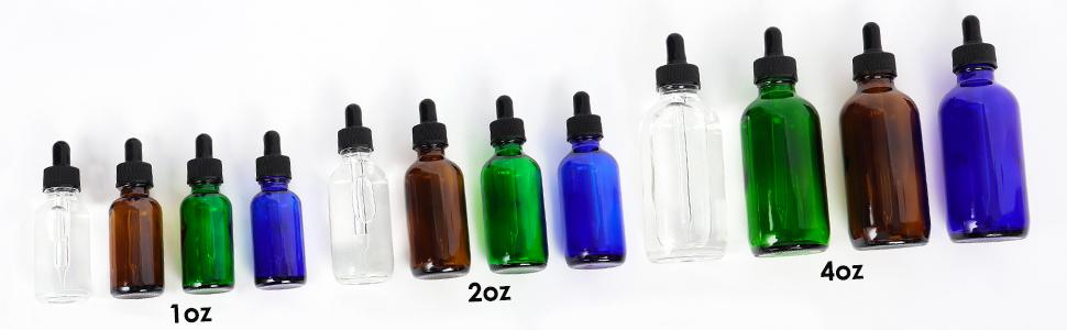 cyclemore glass dropper bottle