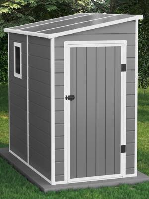 Outdoor Lean To Storage Design