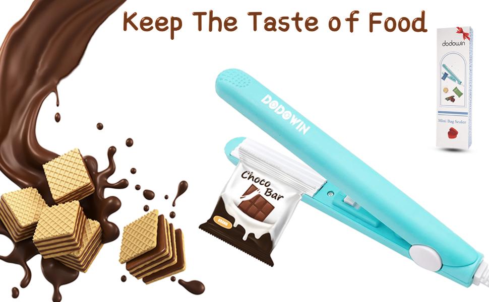 mini bag sealer ,keep the taste of food