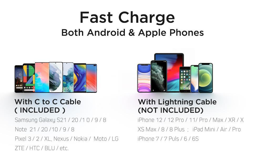 USB C Car Plug Type c car charger usb pd car charger