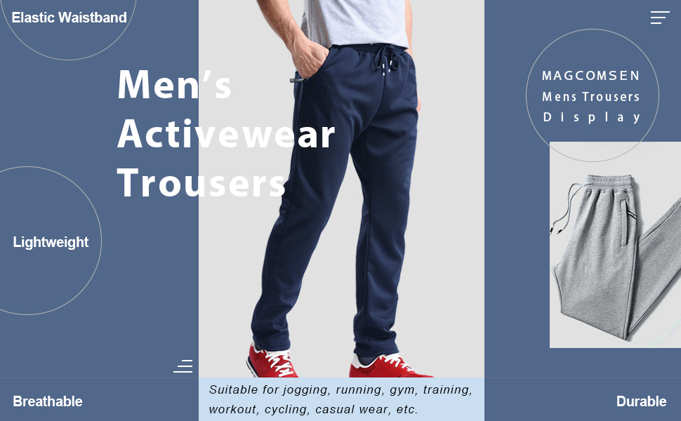 Mens Activewear Trousers