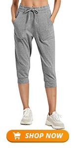 women crop sweatpants