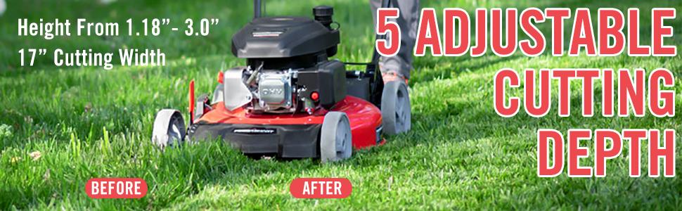 Gas Powered Lawn Mower