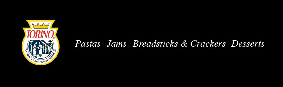 Torino - Pastas, Jams, Breadsticks, Crackers, amp; Desserts