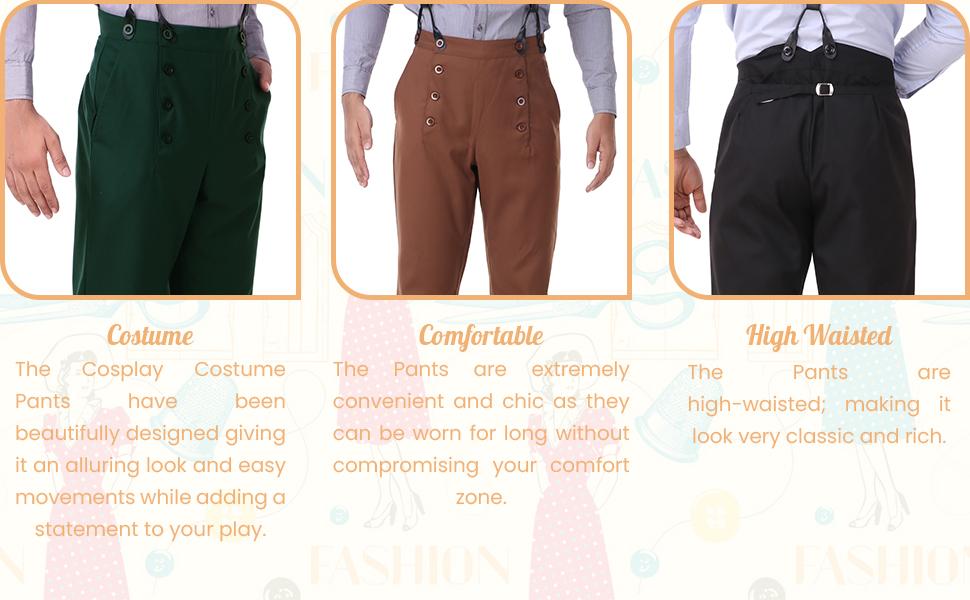 Steampunk Pants