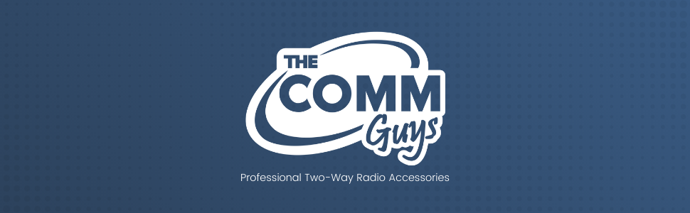 The Comm Guys two way radio accessories microphones headsets earpieces chargers antennas batteries