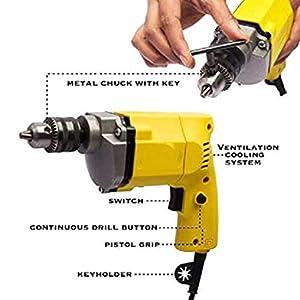 Drill Machine Pistol Grip Drill 10mm drilling machine