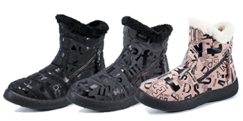 Women Snow Boots Winter Shoes with Warm Fur Lined Ankle Boot Non-slip Waterproof Outdoor Booties