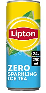 Lipton Ice Tea Zero Sparkling 24 x 250 ML