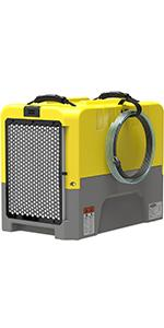 commercial dehumidifier in yellow