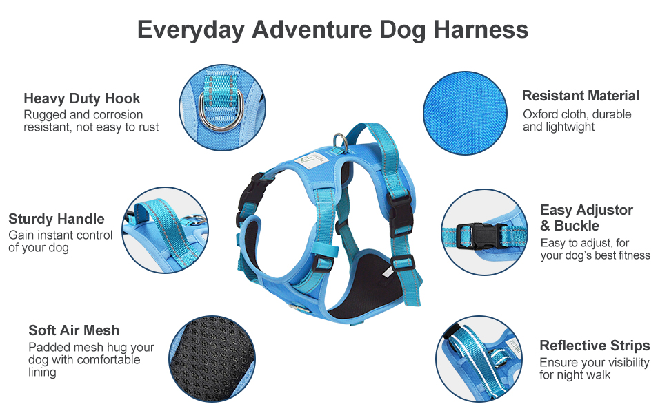 petaby no pull dog harness