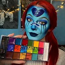 face paint 20 colors
