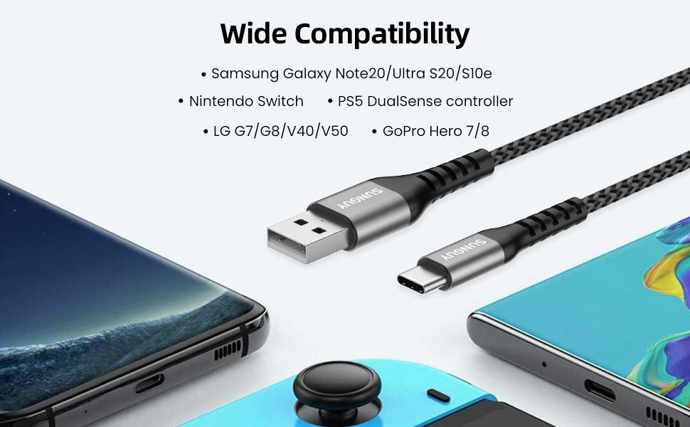 cable charger usb c