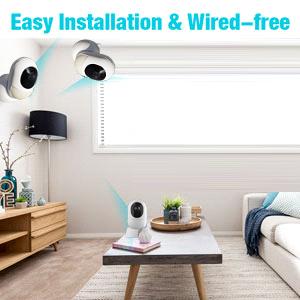 easy installation camera