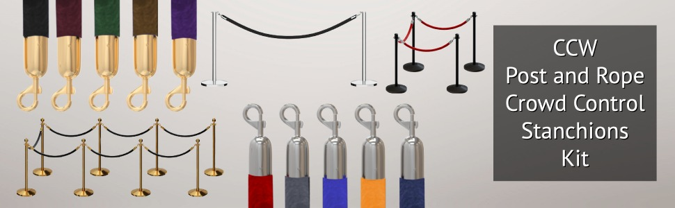 hdvl rope and stanchions header kit