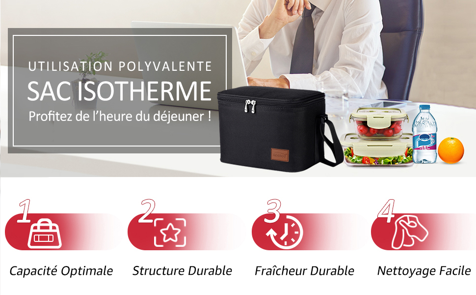 Sac isotherme pour homme