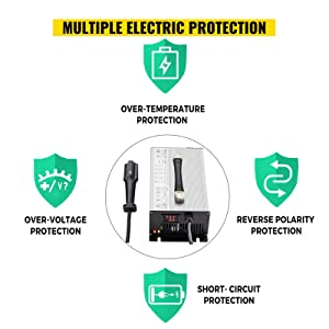 powerwise golf cart battery charger