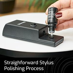 Straightforward Stylus Polishing Process