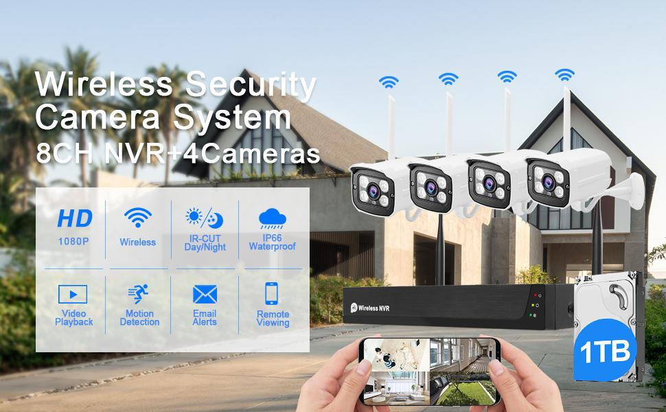 Wirless Security Camera System