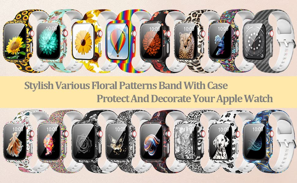 Various patterns apple watch bands