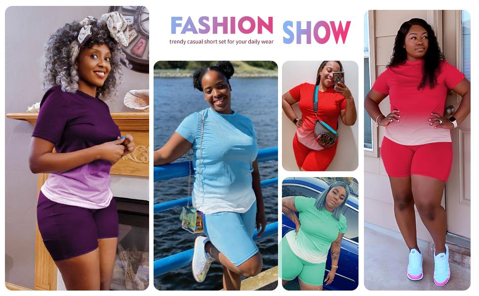fashion short set for women
