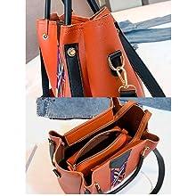 tan combo bags, strip bag, handbags, women handbags, ladies bags, ladies peruse