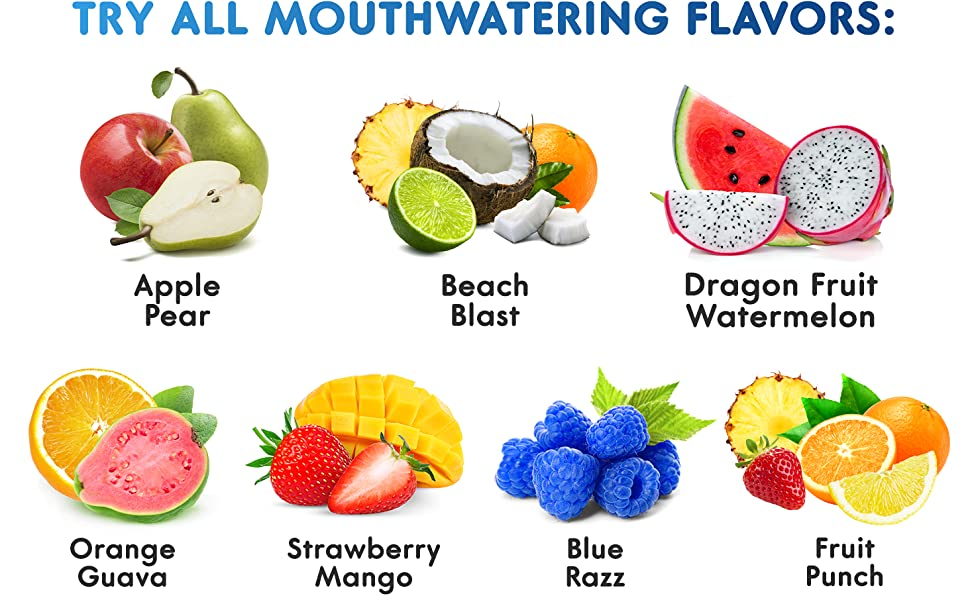 EAAS Mouthwatering Flavors