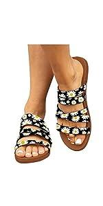 flower strappy sandal