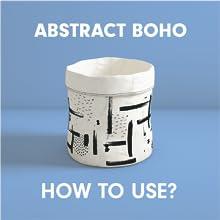Storage bag- Abstract Boho