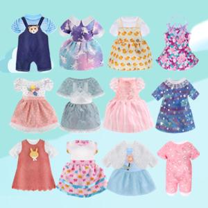 12 Sets Doll Clothes