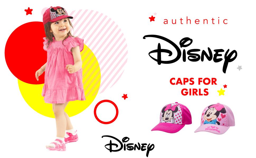 Disney Girls' Caps