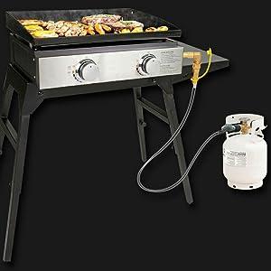 blackstone propane adapter  Propane Regulator and Hose,QCC1 Universal Grill Regulator