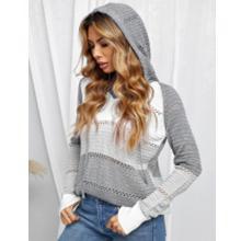 Actloe Ladies Gray Sweater
