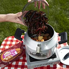 Steam cooking, Camping Cookware