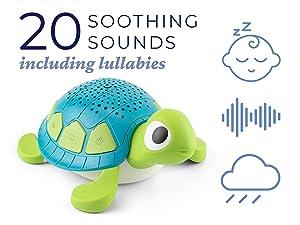 Soundscene, Yogasleep, White Noise, Lullaby, stream, waves, womb