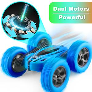 The RC Car for Kids has Strong Dual Motors.