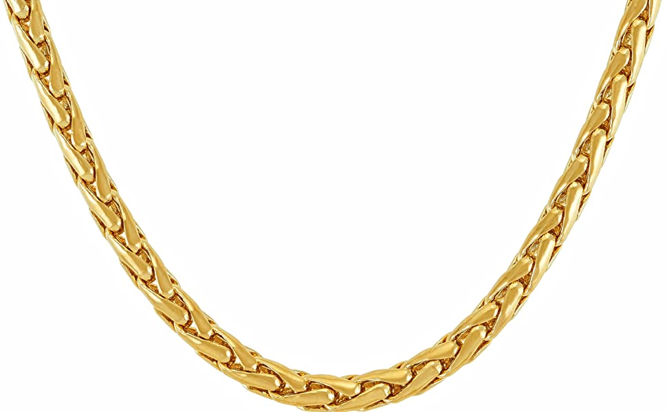 fashion jewelry costume jewelry gold necklace chain weave gold chain 24k plated solid thick belt