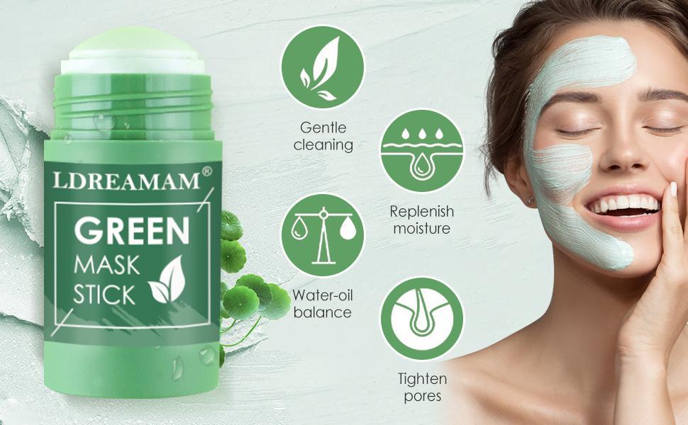 Green Tea Solid Mask