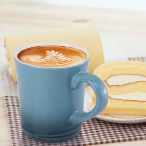 Porcelain Gradient Color Mug Set for Coffee Drinks Cappuccino Mocha Mug