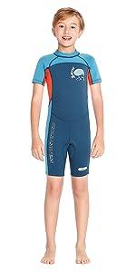 2.5mm neopren kids wetsuit
