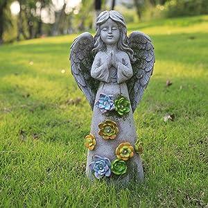 garden angels outdoor statue