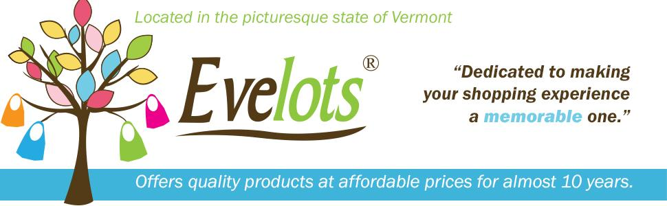 Evelots Offers Quality Consumer Goods - Branded Logo Banner