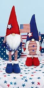 Joy-Leo July of Patriotic Christmas Gnomes - JL21
